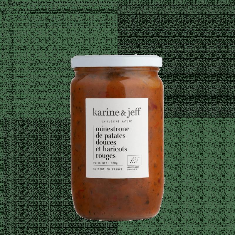 minestrone-de-patates-douces-et-haricots-rouges bio et artisanal