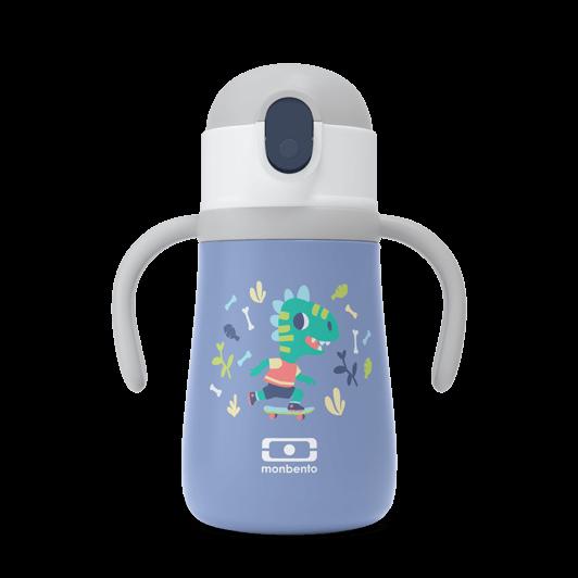 monbento-gourde enfant- blue dino