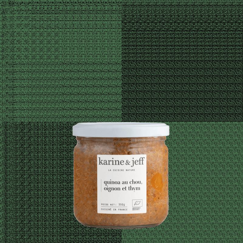 quinoa-au-chou-oignons-thym bio et artisanal