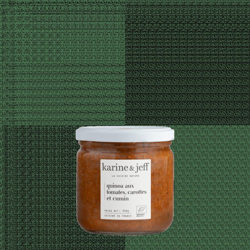 quinoa-tomates-carottes-cumin bio et artisanal