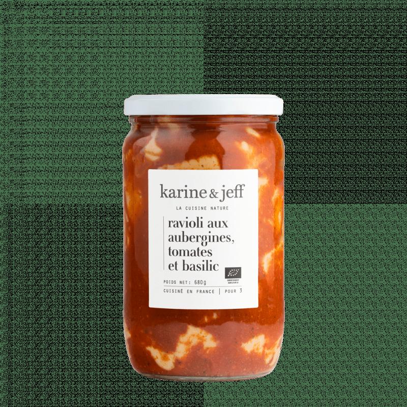 ravioli-aux-aubergines-tomate-et-basilic-bio et artisanal